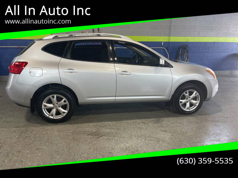 2008 Nissan Rogue for sale at All In Auto Inc in Addison IL