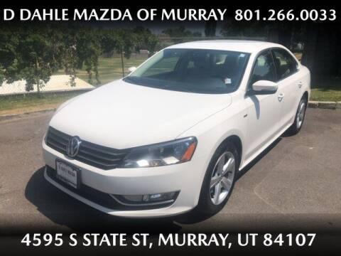 2015 Volkswagen Passat for sale at D DAHLE MAZDA OF MURRAY in Salt Lake City UT