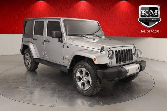 2014 Jeep Wrangler Unlimited for sale at K&M Wayland Chrysler  Dodge Jeep Ram in Wayland MI