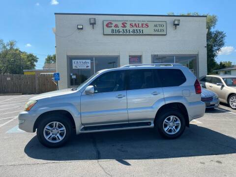 2005 Lexus GX 470 for sale at C & S SALES in Belton MO