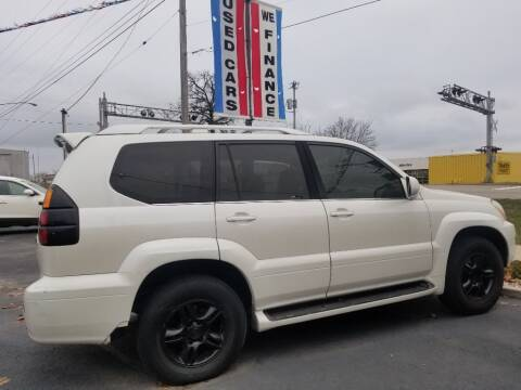 2004 Lexus GX 470 for sale at American Auto Group LLC in Saginaw MI