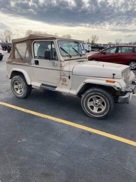 1995 Jeep Wrangler for sale at Ace Motors in Saint Charles MO