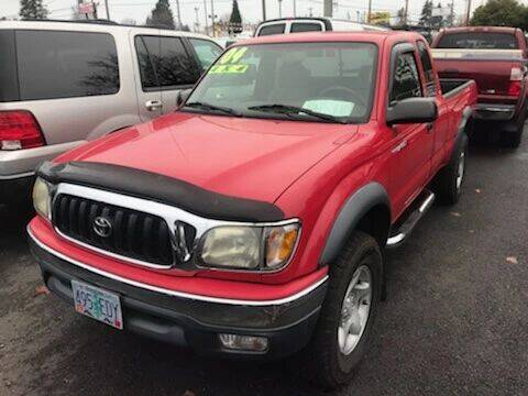 2004 Toyota Tacoma for sale at Chuck Wise Motors in Portland OR