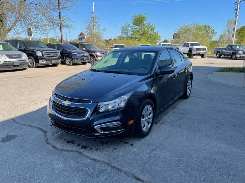 2015 Chevrolet Cruze for sale at Dean's Auto Sales in Flint MI