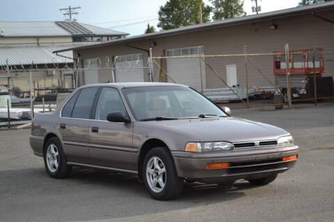 1993 Honda Accord for sale at Skyline Motors Auto Sales in Tacoma WA
