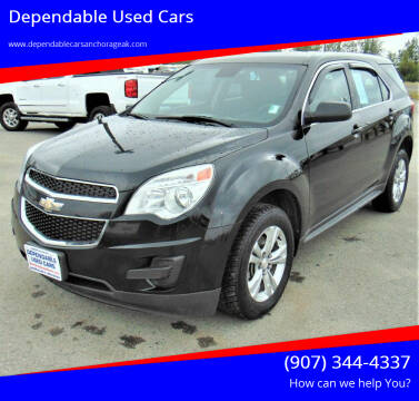 2013 Chevrolet Equinox for sale at Dependable Used Cars in Anchorage AK