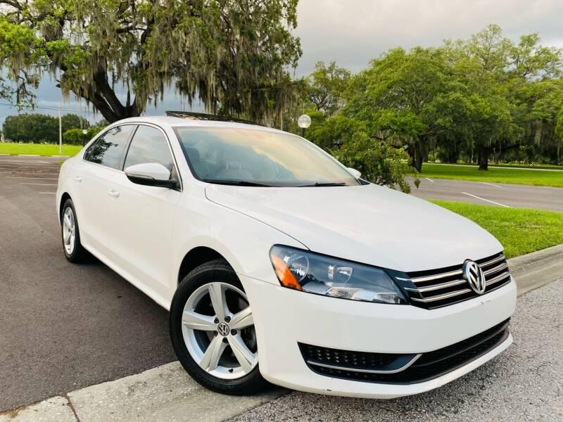 2012 Volkswagen Passat for sale at FLORIDA MIDO MOTORS INC in Tampa FL