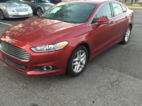2013 Ford Fusion for sale at STATEWIDE AUTOMOTIVE LLC in Englewood CO