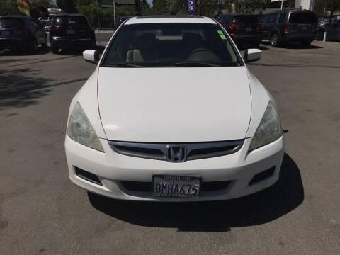 2007 Honda Accord for sale at EXPRESS CREDIT MOTORS in San Jose CA