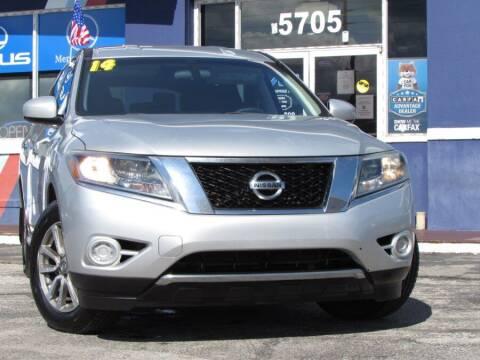 2014 Nissan Pathfinder for sale at VIP AUTO ENTERPRISE INC. in Orlando FL