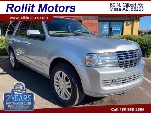2010 Lincoln Navigator for sale at Rollit Motors in Mesa AZ