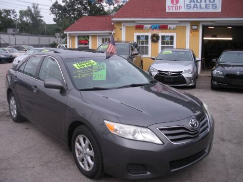 2011 Toyota Camry for sale at One Stop Auto Sales in North Attleboro MA