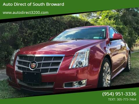 2011 Cadillac CTS for sale at Auto Direct of South Broward in Miramar FL
