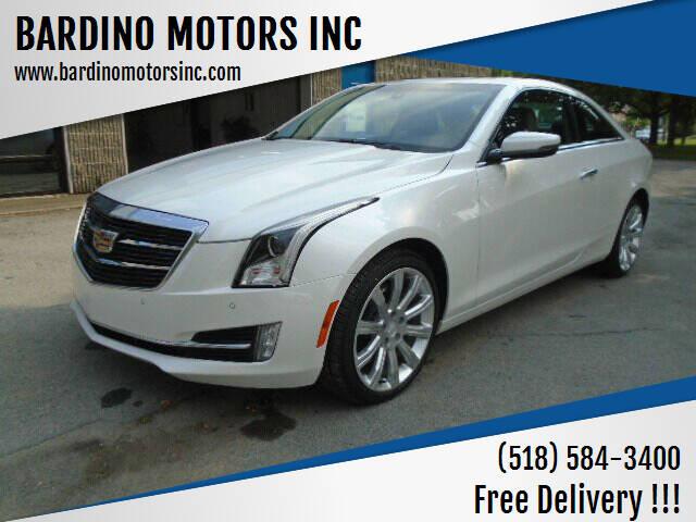 2017 Cadillac ATS for sale at BARDINO MOTORS INC in Saratoga Springs NY