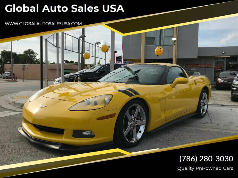 2008 Chevrolet Corvette for sale at Global Auto Sales USA in Miami FL