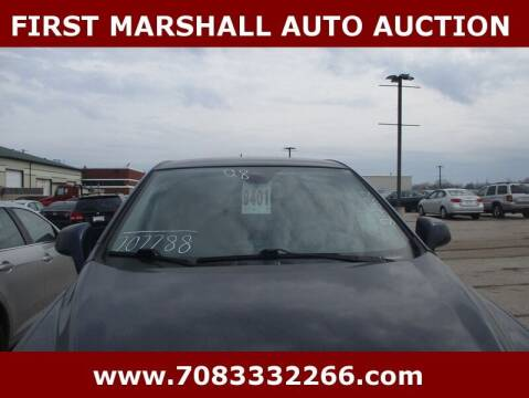 2008 Saturn Vue for sale at First Marshall Auto Auction in Harvey IL