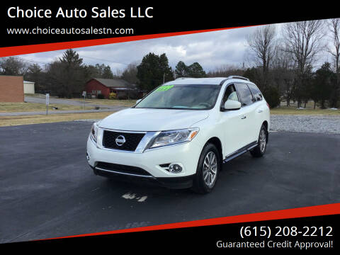 2014 Nissan Pathfinder for sale at Choice Auto Sales LLC - Cash Inventory in White House TN