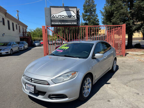 2013 Dodge Dart for sale at AUTOMEX in Sacramento CA