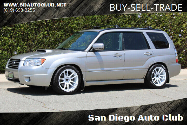 2007 Subaru Forester for sale at San Diego Auto Club in Spring Valley CA