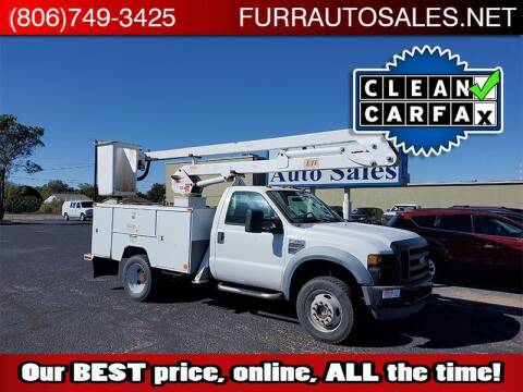 2008 Ford F-550 Super Duty for sale at FURR AUTO SALES in Lubbock TX