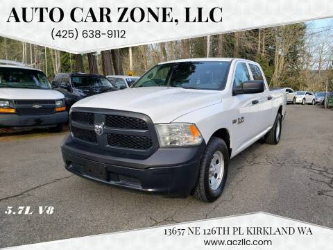 2015 RAM Ram Pickup 1500 for sale at Auto Car Zone, LLC in Kirkland WA