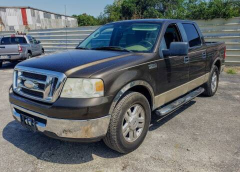 2008 Ford F-150 for sale at Jackson Motors Used Cars in San Antonio TX