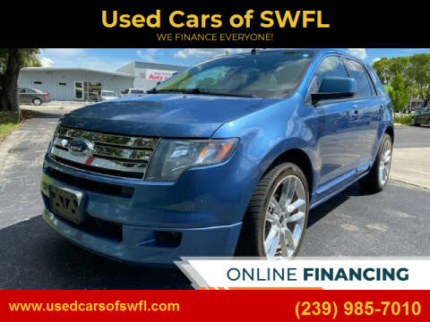 2010 Ford Edge for sale at Used Cars of SWFL in Fort Myers FL