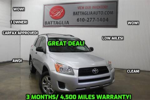 2009 Toyota RAV4 for sale at Battaglia Auto Sales in Plymouth Meeting PA
