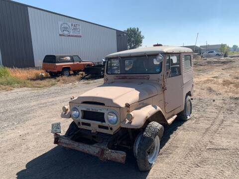 1963 Toyota Land Cruiser for sale at Fatt Larry's Customs - Classics/Projects in Sugar City ID