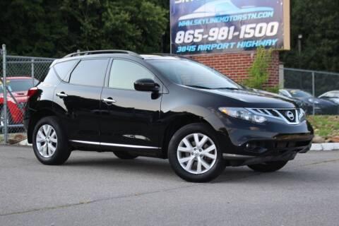 2014 Nissan Murano for sale at Skyline Motors in Louisville TN
