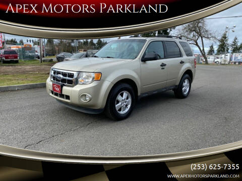 2010 Ford Escape for sale at Apex Motors Parkland in Tacoma WA