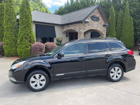 2012 Subaru Outback for sale at Hoyle Auto Sales in Taylorsville NC