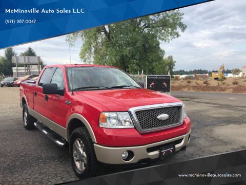 2007 Ford F-150 for sale at McMinnville Auto Sales LLC in Mcminnville OR