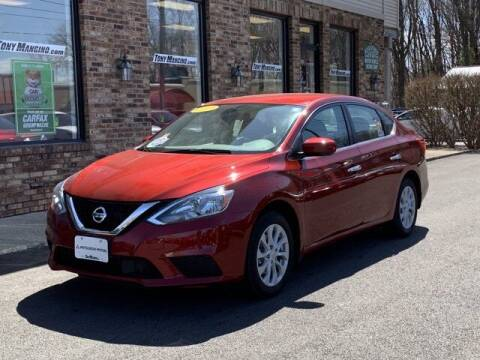 2019 Nissan Sentra for sale at The King of Credit in Clifton Park NY