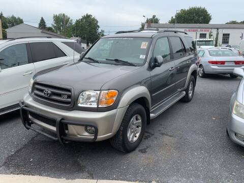 2004 Toyota Sequoia for sale at Harrisburg Auto Center Inc. in Harrisburg PA