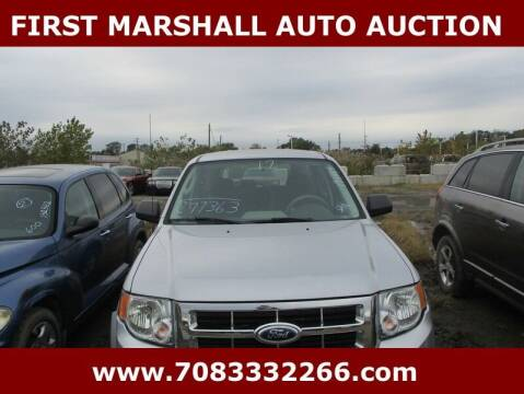 2012 Ford Escape for sale at First Marshall Auto Auction in Harvey IL