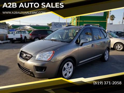 2009 Kia Rondo for sale at A2B AUTO SALES in Chula Vista CA