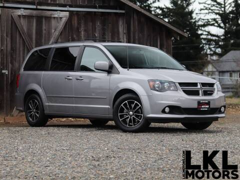 2017 Dodge Grand Caravan for sale at LKL Motors in Puyallup WA
