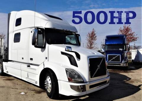 2016 Volvo VNL64T780 for sale at ANYTHING IN MOTION INC in Bolingbrook IL