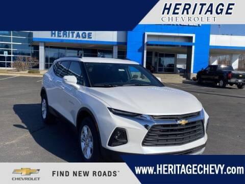 2021 Chevrolet Blazer for sale at HERITAGE CHEVROLET INC in Creek MI