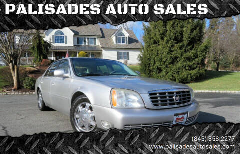 2004 Cadillac DeVille for sale at PALISADES AUTO SALES in Nyack NY