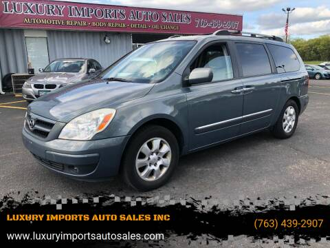 2007 Hyundai Entourage for sale at LUXURY IMPORTS AUTO SALES INC in North Branch MN