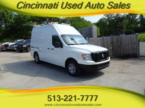 2013 Nissan NV Cargo for sale at Cincinnati Used Auto Sales in Cincinnati OH