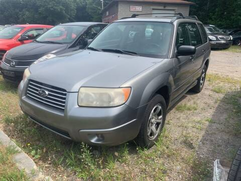 2007 Subaru Forester for sale at Official Auto Sales in Plaistow NH