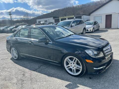 2013 Mercedes-Benz C-Class for sale at Ron Motor Inc. in Wantage NJ