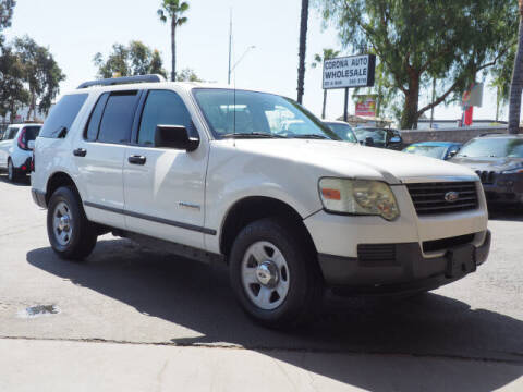 2006 Ford Explorer for sale at Corona Auto Wholesale in Corona CA