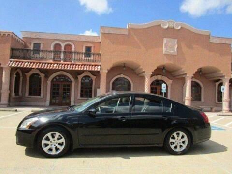 2007 Nissan Maxima for sale at Bad Credit Call Fadi in Dallas TX
