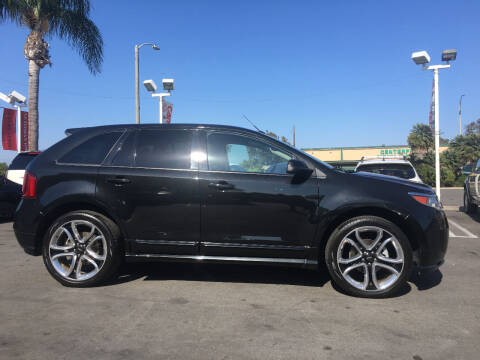 2013 Ford Edge for sale at CARSTER in Huntington Beach CA