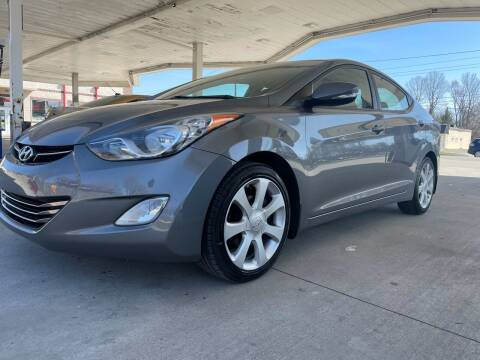 2012 Hyundai Elantra for sale at JE Auto Sales LLC in Indianapolis IN