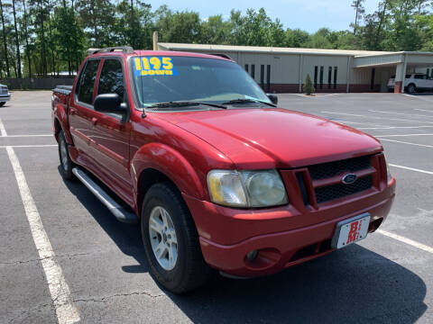 2005 Ford Explorer Sport Trac for sale at B & M Car Co in Conroe TX